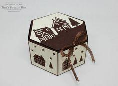 Sechseckige Geschenkbox - mit Produkten von Stampin' Up!