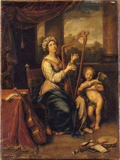"""Pierre Mignard / """"Santa Cecilia"""" / Paris, Musée du Louvre"""