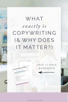 Need copywriting tips -- and to learn how writing copy can help you be a better blogger?
