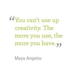 #CreativityQuote #MayaAngelou