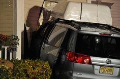 Hawthorne Lane Car Into House