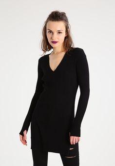 Missguided Petite Sweter - black - Zalando.pl