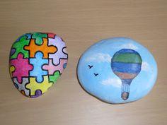 Pintar piedras - Foro de InfoJardín