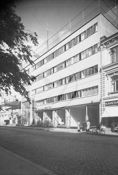Läntinen keskusta - Vanhoja kuvia Turusta - Suomikuva.fi Multi Story Building