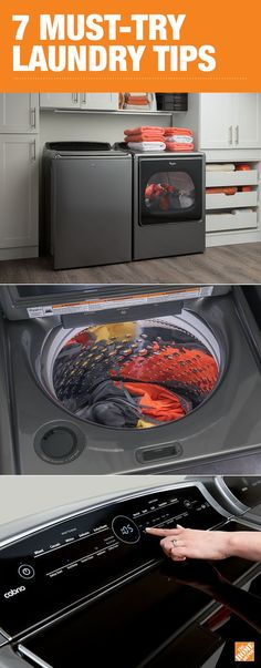 Between washing, drying, folding and sorting, laundry can be a major time commitment. Follow these seven tips and tricks to conquer your pile of laundry in half the time. Click to learn more.