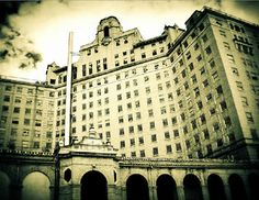 The Baker Hotel in Mineral Wells, Texas.  Photo by Sonia Hernandez Doneghue for Through These Eyes Visual Art.