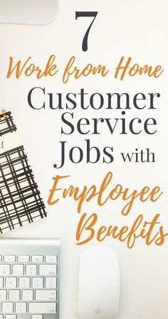 Want to work from home with the security of a regular paycheck and benefits? Check out these 7 work from home employee positions! Amazon Work From Home, Cash From Home, Work From Home Tips, Make Money From Home, Way To Make Money, Work At Home, Customer Service Jobs, Work From Home Opportunities, Career Options