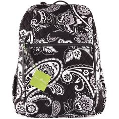Vera Bradley Campus Backpack Midnight Paisley -- Check this awesome product by going to the link at the image. (This is an Amazon Affiliate link and I receive a commission for the sales)