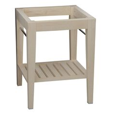 Barclay PBW-L Patricia Light Wood Sink Stands Holders Bathroom Sinks  eFaucets.com