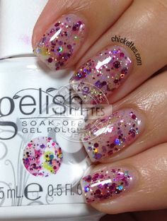 Gelish Trends - Shattered Beauty - Summer 2014