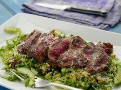 Steak and Mint Salad