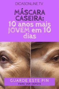 Parecer mais jovem, pele madura cuidados, mascara caseira facial | #PELE PERFEITA com produto barato, MÁSCARA CASEIRA 10 anos mais JOVEM em 10 dias