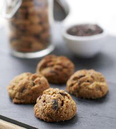 Flourless Peanut Butter & Cocoa Nib Cookies