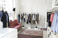 inspiration for walk-in-closet