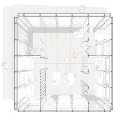 RESSÒ Team House_Floor Plan. 1st Architecture Award, 1st Innovation Award, 3rd Urbanism Award. SOLAR DECATHLON EUROPE 2014