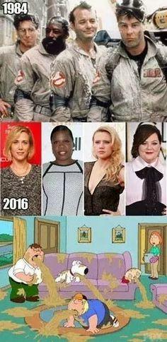TarskiBlog.com: Hollywood... why u do thiss....?? #ghostbusters