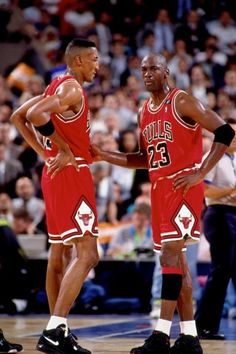 The Bulls...  Chicago Bull...  Pippin and Jordan...  'Nuff said!