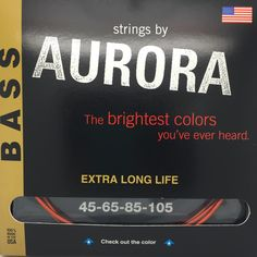 Be Bold for your Bass.  Coloured stings with no compromise on sound or colour. www.fretfunk.co.uk