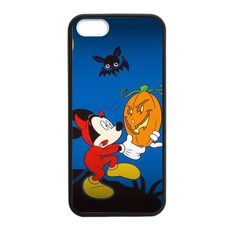 Halloween Mickey Holding A Pumpkin Case for iPhone 5/5s