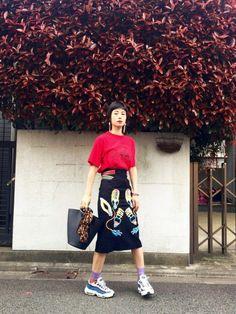 IZUMI THEATRE PRODUCTSのスカートを使ったコーディネート - WEAR
