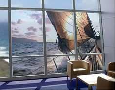 XXL FensterBild Sailing Trip