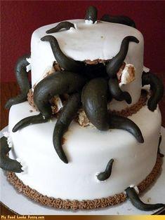 Recette Halloween gâteau qui fait peur