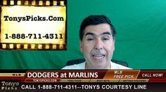 LA Dodgers vs. Miami Marlins Pick Prediction MLB Baseball Odds Series Pr...