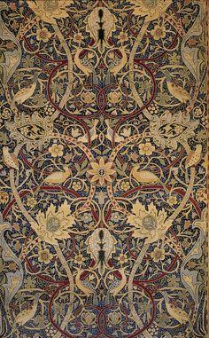 William Morris's Bullerswood carpet