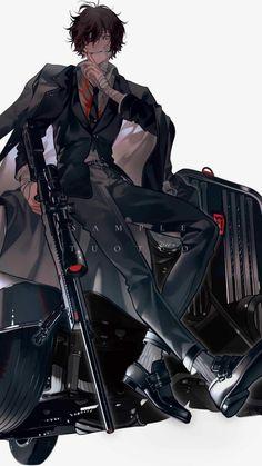Bungou Stray Dogs Wallpaper, Dog Wallpaper, Dazai Bungou Stray Dogs, Stray Dogs Anime, Otaku Anime, Hot Anime Boy, Dark Anime Guys, Handsome Anime Guys, Fanarts Anime