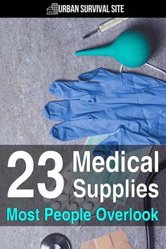 You might think you have all the medical supplies you need to survive a disaster, but chances are you overlooked a few things. supplies 23 Medical Supplies Most People Overlook Survival Supplies, Emergency Supplies, Survival Prepping, Survival Gear, Survival Skills, Survival Quotes, Survival Shelter, Survival Gadgets, Doomsday Prepping
