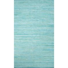 Found it at AllModern - Lubue Hand-Woven Blue Radiance Area Rug
