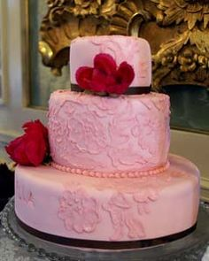 Wedding Cakes Pictures: Pink Wedding Cake Pictures
