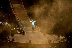 Coldplay live in Argentina