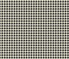 Hannah_LaChance_houndstooth fabric by ©_lana_gordon_rast_ on Spoonflower - custom fabric