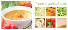 interesting, thermogenic soup. supposed to help you burn more calories as you eat it.