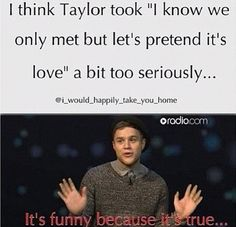 Hahahahahaha! I didnt even know they were still dating , i though they broke up? ...