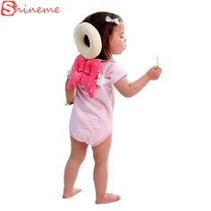 Toddler baby pillow newborn head protection protector pad wings learning walking…
