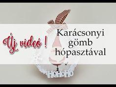 kosarbolt.hu ~ Karácsonyi gömb hópasztával Place Cards, Place Card Holders, Decor, Decoration, Decorating, Dekorasyon, Dekoration, Home Accents, Deco