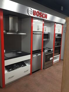Photo of Faulkner's Appliance Centre - Etobicoke, ON, Canada. Bosch display