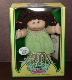Vintage Kid 30th Birthday Limited Edition - Cabbage Patch