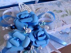 Svatební přání v barvě modré Hanukkah, Wreaths, Cake, Home Decor, Decoration Home, Door Wreaths, Room Decor, Kuchen, Deco Mesh Wreaths