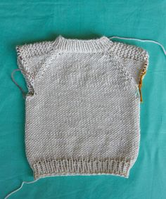 how to knit a sweater step-by-step