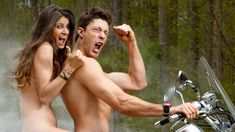 Hands down..my favorite celebrity couple..absolutely love them. Travis and Lynn-Z Pastrana strip down for The ESPN Body Issue.