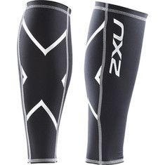 2XU  Compression Calf Guard - Black/Black