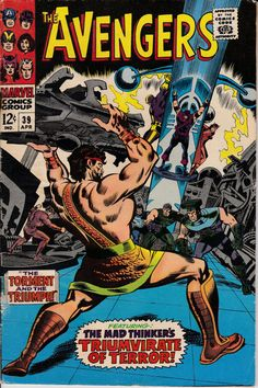 Avengers 39 April 1967 Issue  Marvel Comics  Grade by ViewObscura