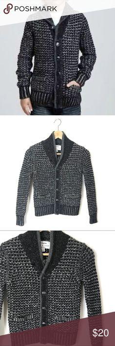 "Rag & Bone For Neiman Marcus Cardigan Sweater Rag & Bone For Neiman Marcus Cardigan Sweater. 19"" long. 13"" across the chest. 51% Cotton 49% Wool. Size Boys S. rag & bone Shirts & Tops Sweaters"