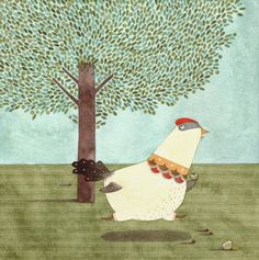 Poesia Infantil i Juvenil: Mamá gallina: poema infantil amb molt cloqueig