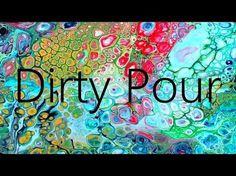 épinglé par ❃❀CM❁✿⊱Dirty Pour. Acrylic Pouring Using Elmer's Glue, Acrylic Paints and Silicone - YouTube