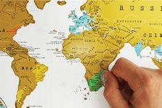 De Scratch Map bestel je bij Cadeau.nl!