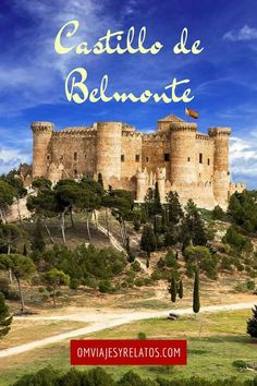 The Castillo de Belmonte is a medieval castle on the hill of San Cristobal, just outside the village of Belmonte in the… Castle On The Hill, Castle Ruins, Chateau Medieval, Medieval Castle, Romanesque Architecture, Architecture Old, Loire Castles, Freedom Travel, Old Fort